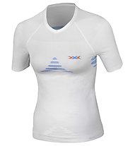 X-Bionic Energizer Shirt S/S W's, White/Sky Blue