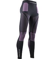 X-Bionic Energy Accumulator 4.0 P - calzamaglia - donna, Grey/Violet
