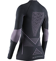 X-Bionic Energy Accumulator 4.0 - maglietta tecnica - donna, Grey/Violet