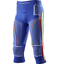 X-Bionic Energy Accumulator  EVO FISI - calzamaglia - uomo, Blue/Green/Red