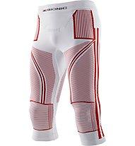 X-Bionic Energy Accumulator EVO Patriot Edition - Unterhose lang - Herren, White/Red