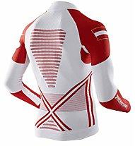 X-Bionic Energy Accumulator EVO Patriot Edition Austria - Funktionsshirt Langarm - Herren, White/Red