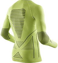 X-Bionic Energy Accumulator EVO -  Funktionsshirt Langarm - Herren, Green/Grey