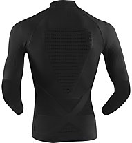 X-Bionic Energy Accumulator Evo Shirt Long Sleeves Turtle Neck - maglia tecnica - uomo, Black/Black