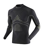 X-Bionic Energy Accumulator Evo Shirt Long Sleeves Turtle Neck - maglia tecnica - uomo, Black/Light Grey