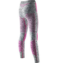 X-Bionic Accumulator Evo - calzamaglia - donna, Grey/Pink