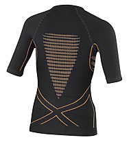 X-Bionic Energy Accumulator - maglia intima - donna, Black/Orange