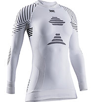 X-Bionic Invent 4.0 - maglietta tecnica - donna, White/Black