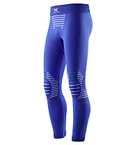 X-Bionic Junior Invent Pant Long lange Unterhose für Kinder, Blue