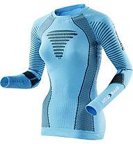 X-Bionic Effektor Power Laufshirt Damen, Turquoise/Anthracite