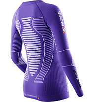 X-Bionic Effektor Power Laufshirt Damen, Violet/White