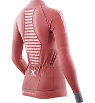 X-Bionic Lady Race Evo OW LG-Sl - langärmliges Radtrikot - Damen, Pink