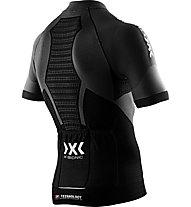 X-Bionic Race Evo Shirt - Radtrikot - Herren, Black