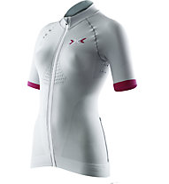 X-Bionic Race Evo Shirt - Radtrikot - Damen, Grey/Red