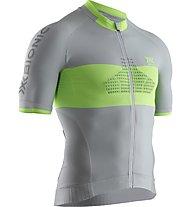 X-Bionic Regulator Bike R - Fahrradtrikot - Herren, Grey/Yellow