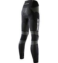 X-Bionic Twyce Running Pants Long W - lange Laufhose - Damen, Black/Grey