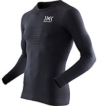 X-Bionic Run Speed Evo - langärmliges Runningshirt - Herren, Black