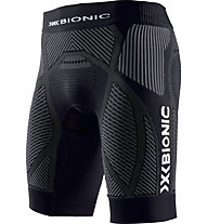 X-Bionic Evo Pants Short - Laufshort, Black/Grey