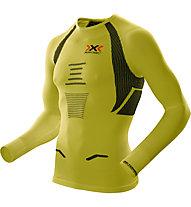 X-Bionic The Trick OW Running Shirt - Laufshirt, Green/Black