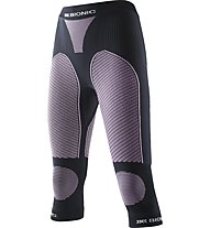 X-Bionic Ski Touring Evo Lady Pants Medium lange Damen-Unterhose, Black/Pink