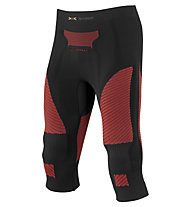 X-Bionic Ski Touring Pants Medium, Stone/Red