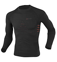 X-Bionic Ski Touring Shirt L/S, Stone/Red