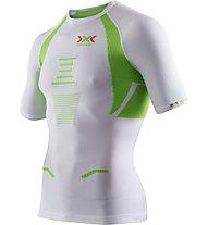 X-Bionic Speed EVO - Laufshirt - Herren, White/Green