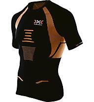 X-Bionic Speed EVO - Laufshirt - Herren, Black/Orange