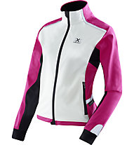 X-Bionic Spherewind Light Jacket Lady - giacca running - donna, Pink/White
