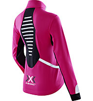 X-Bionic Spherewind Light Laufjacke Damen, Pink/White