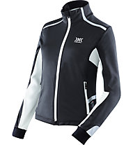 X-Bionic Spherewind Light Jacket Lady giacca running donna, Black/White