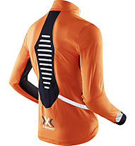 X-Bionic Spherewind Light OW - giacca running - uomo, Orange/Black