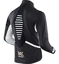 X-Bionic Spherewind Light OW - giacca running - uomo, Black/White
