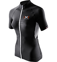 X-Bionic The Trick Biking Shirt, Black/White