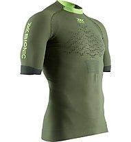 X-Bionic The Trick G2 Run Shirt - maglia running - uomo, Green