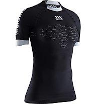 X-Bionic The Trick G2 Run Shirt - Laufshirt - Damen, Black/White