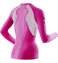 X-Bionic The Trick Lady Running Shirt Long Sleeves maglia running donna, Violet/White