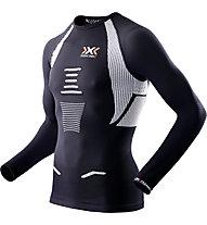 X-Bionic The Trick OW Running - Laufshirt - Herren, Black/White