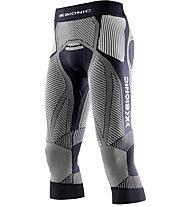 X-Bionic The Trick Laufhose 3/4, Black/White