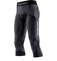 X-Bionic The Trick Running Pants - pantaloni running 3/4 - uomo, Black