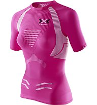 X-Bionic The Trick - Runningshirt - Damen, Pink/White