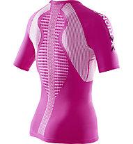 X-Bionic The Trick - Runningshirt - Damen, Pink/White