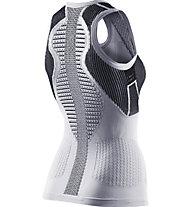 X-Bionic The Trick - ärmelloses Laufshirt - Damen, White/Black
