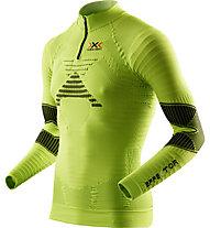 X-Bionic Trail Man Effektor Long langärmliges Runningshirt für Trailrunner, Green/Black