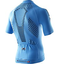 X-Bionic Twyce Bike Shirt Short - Radtrikot - Herren, Blue/Black