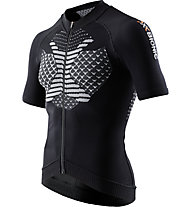 X-Bionic Twyce Bike Shirt Short - Radtrikot - Herren, Black/White