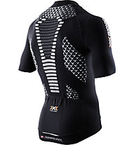 X-Bionic Twyce Bike Shirt Short - Radtrikot - Herren, Black/White
