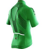 X-Bionic Maglia bici Biking Man Twyce OW Shirt, Green/Black