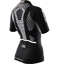 X-Bionic Twyce Bike Shirt Short - Radtrikot - Damen, Black/White