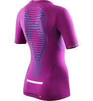 X-Bionic Twyce - Laufshirt - Damen, Violet/Light Blue